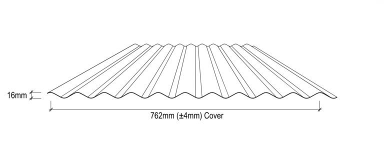 Corrugated Roof Drawing